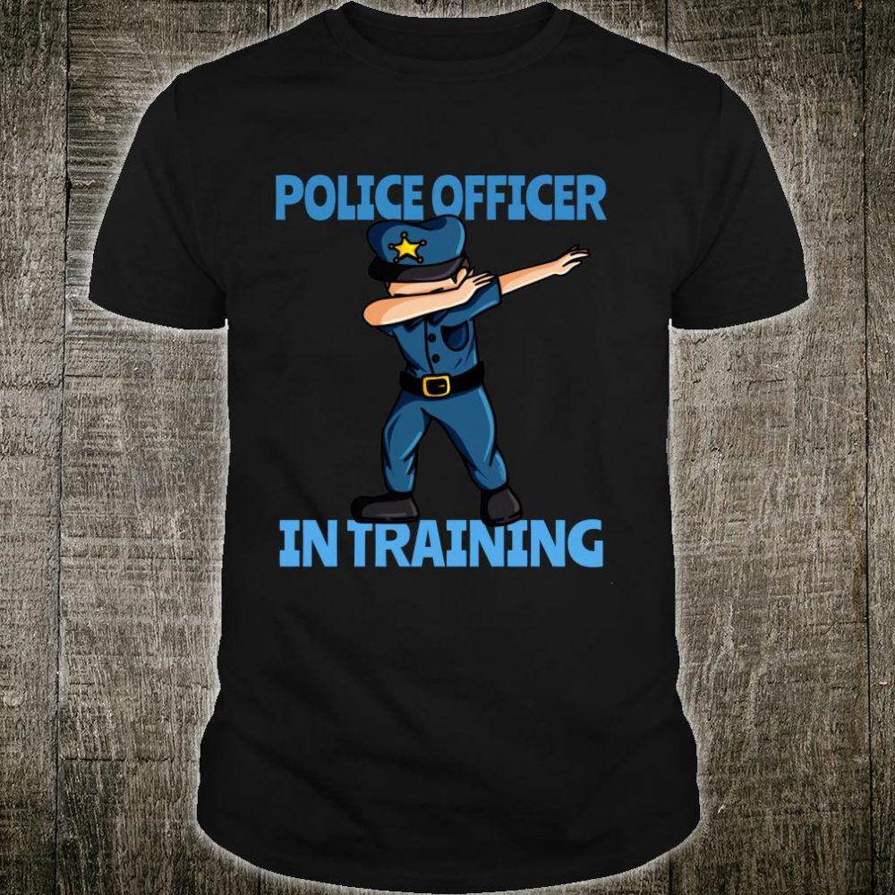 Police Officer in Training Policeman Boys Shirt