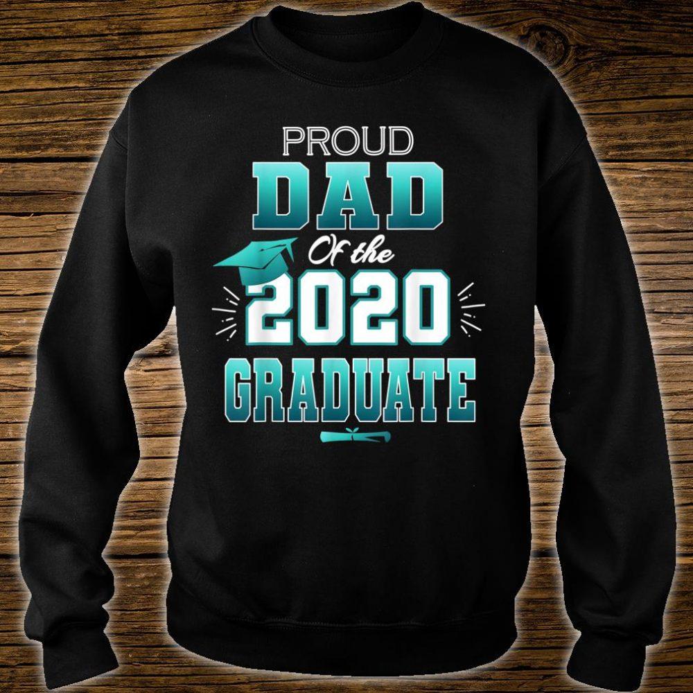 Proud Dad Of A 2020 Graduate Senior College Shirt sweater