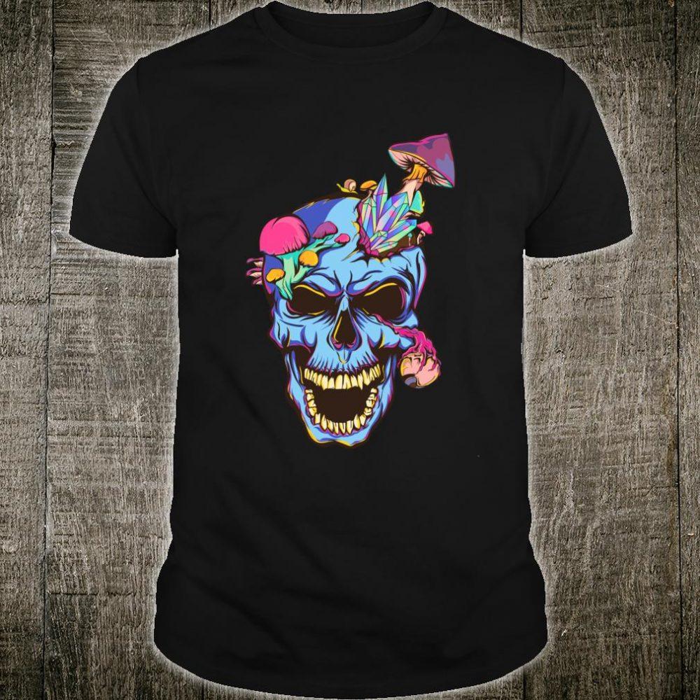Psychedelic Crystal Skull Shirt