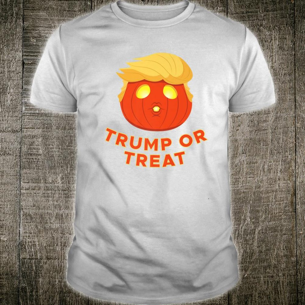 Pumpkin Halloween Trump or Treat Costume Trumpkin Shirt