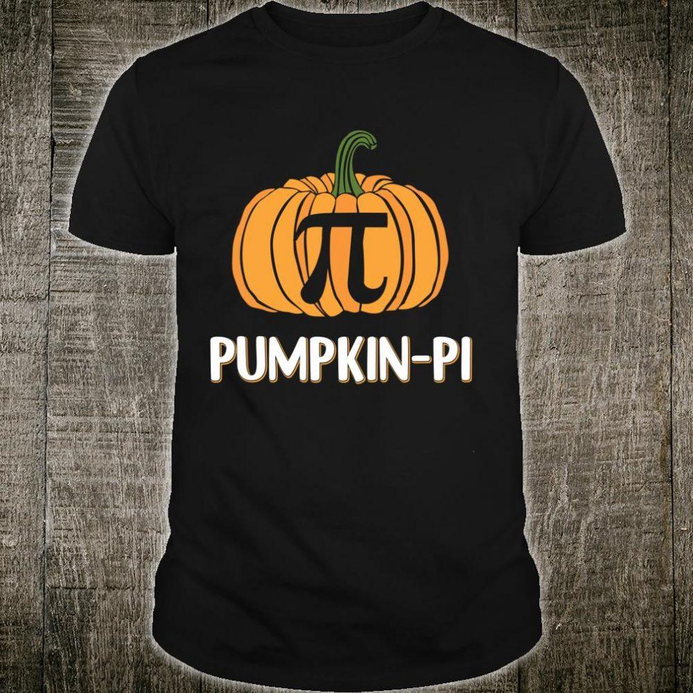 Pumpkin Pi Halloween Math Teacher Costume Pi Day Shirt