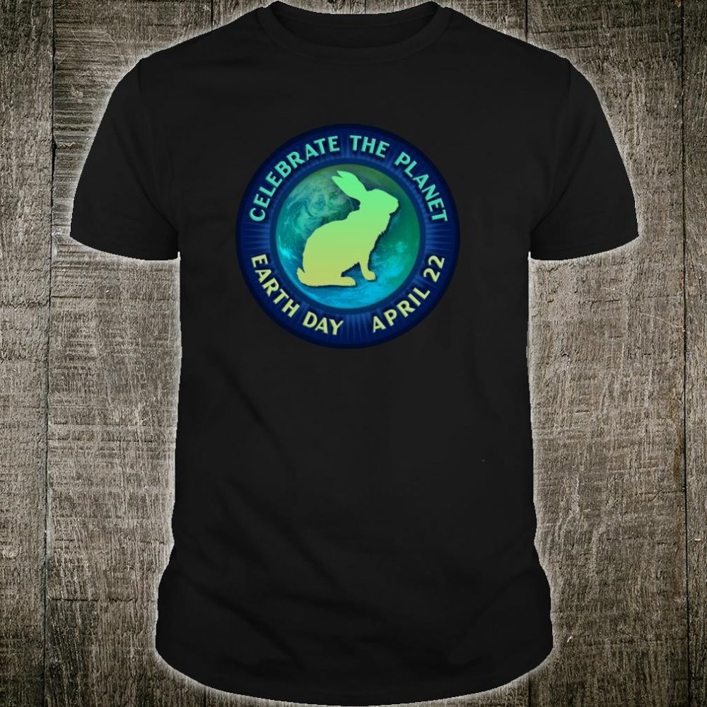 Rabbit and Hares Celebrate Earth Day 50th Anniversary Shirt