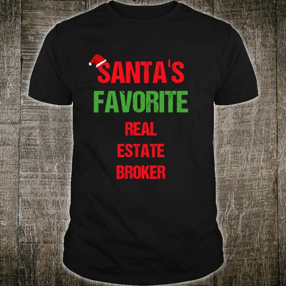 Real Estate Broker Pajama Christmas Shirt