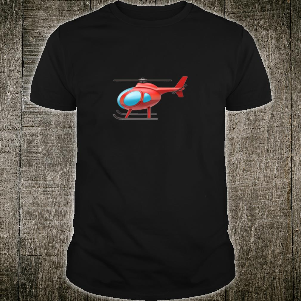 Red Helicopter Shirt