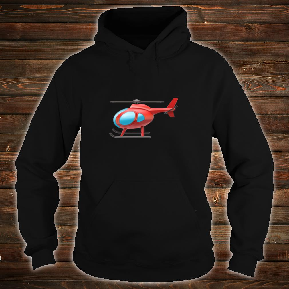 Red Helicopter Shirt hoodie