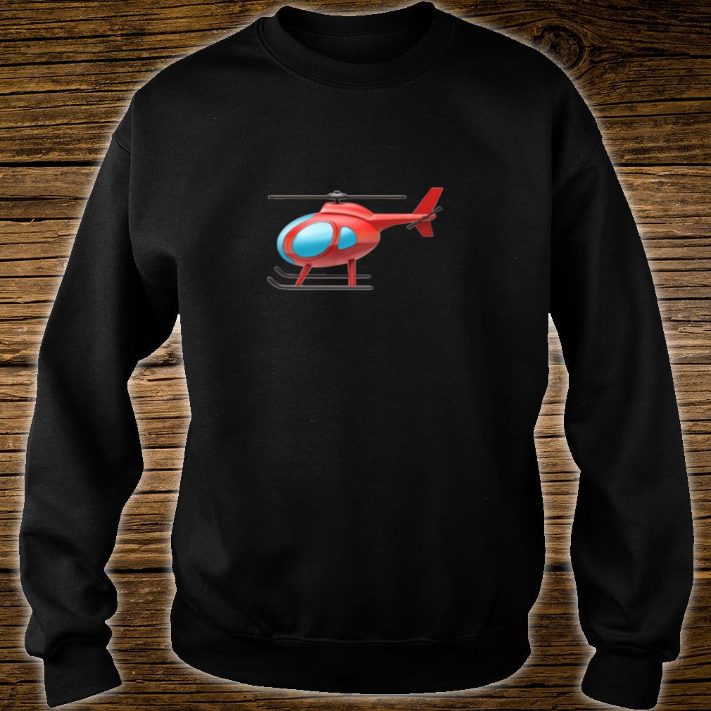 Red Helicopter Shirt sweater