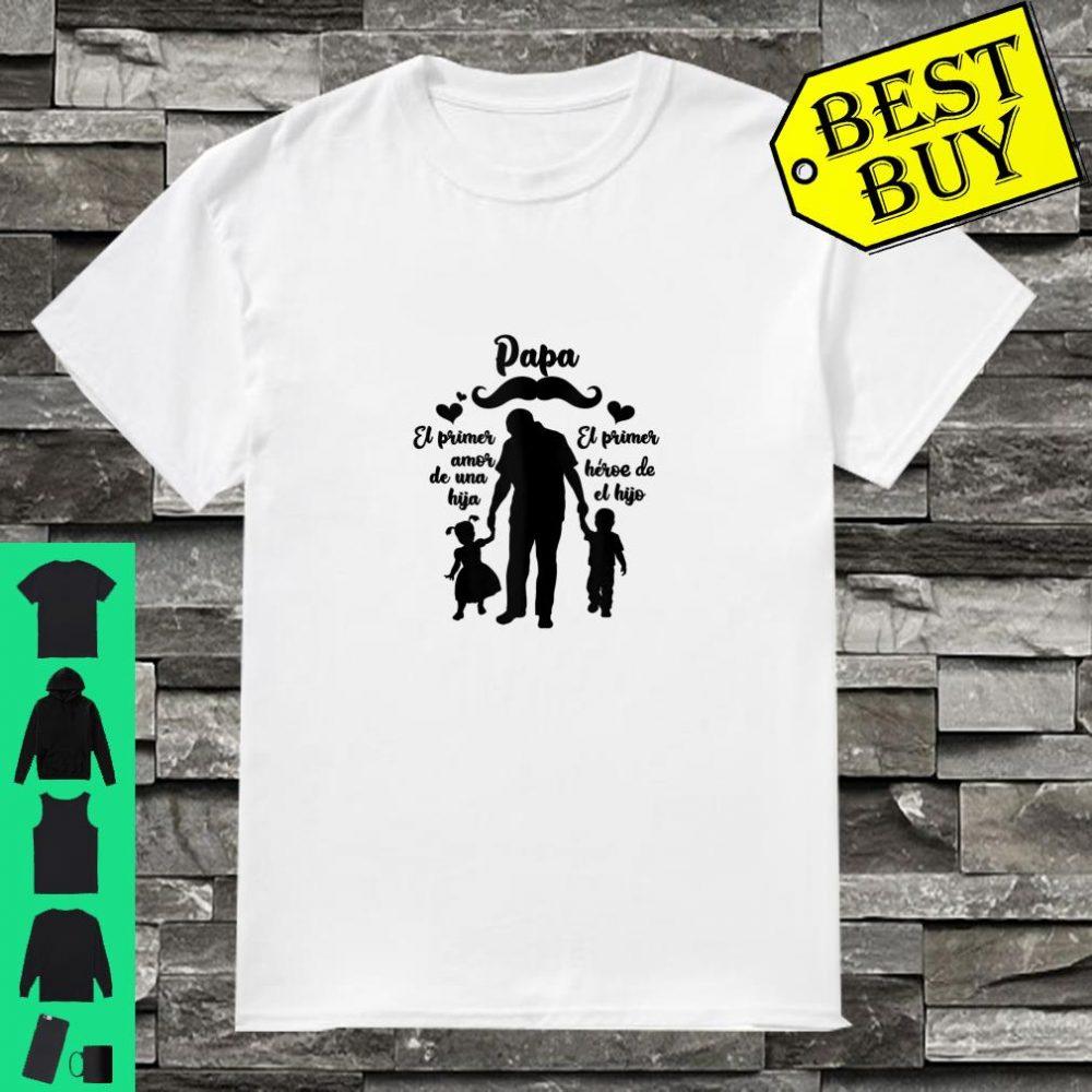 Regalo para Papa Spanish Fathers Day Gift Regalo Camisa Shirt