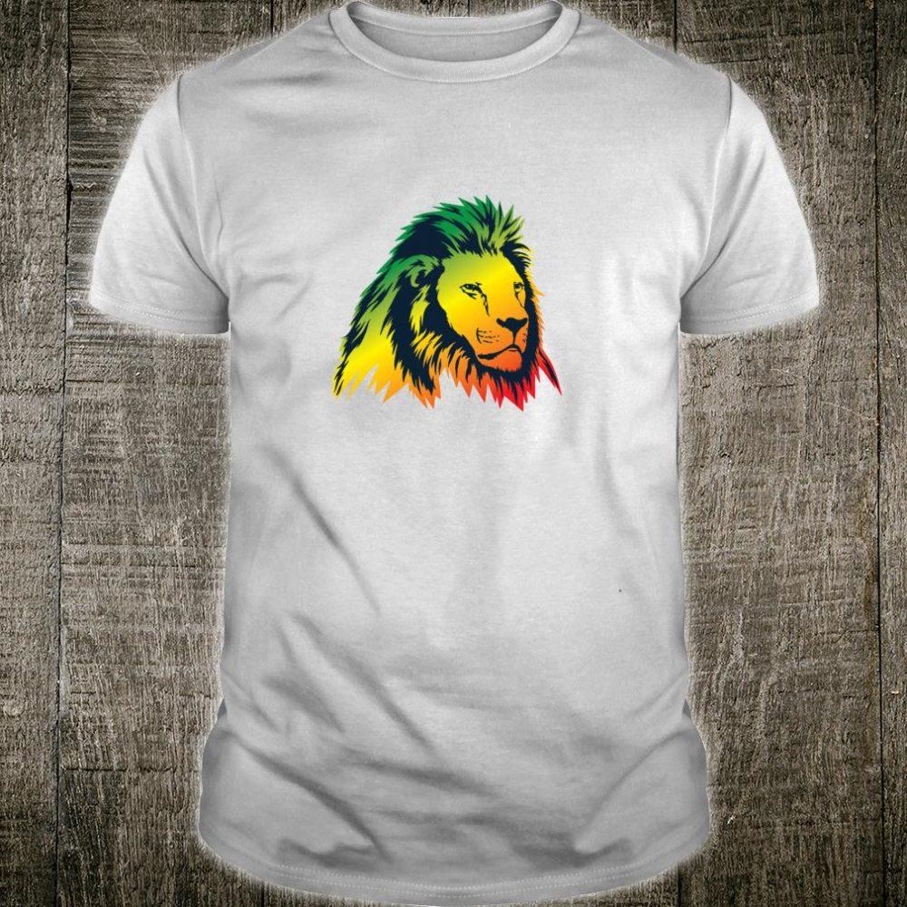 Reggae Roots Good Vibes Only King Lion Rasta Shirt