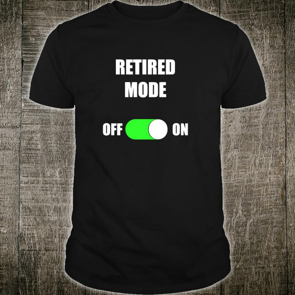 Retired 2020 Retirement and Shirt