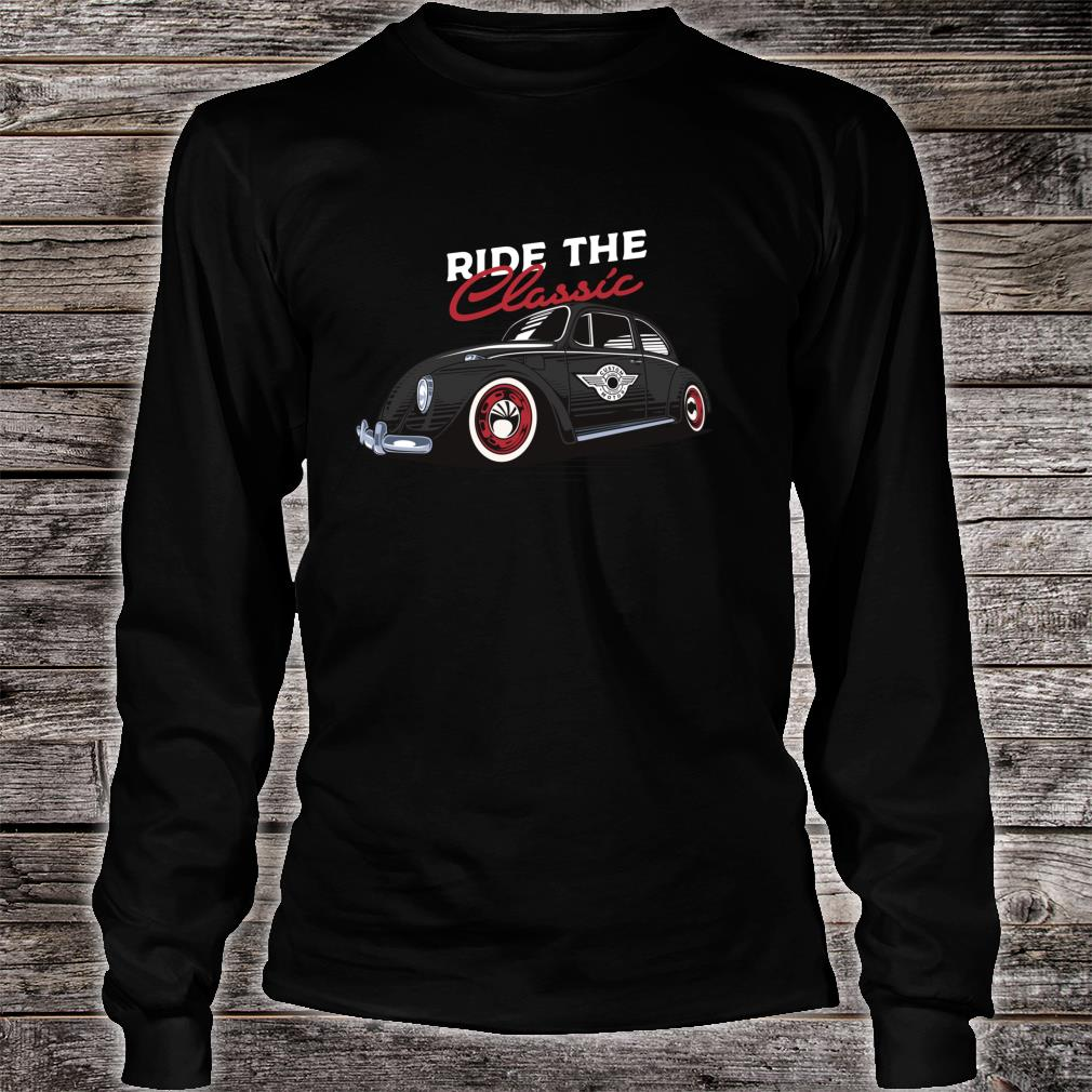 Retro Bug Auto Beetle Vintage Tattoo Ink Custom Classic Car Shirt long sleeved