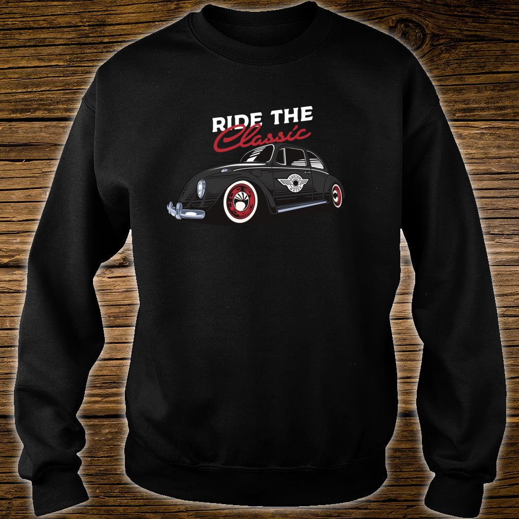Retro Bug Auto Beetle Vintage Tattoo Ink Custom Classic Car Shirt sweater