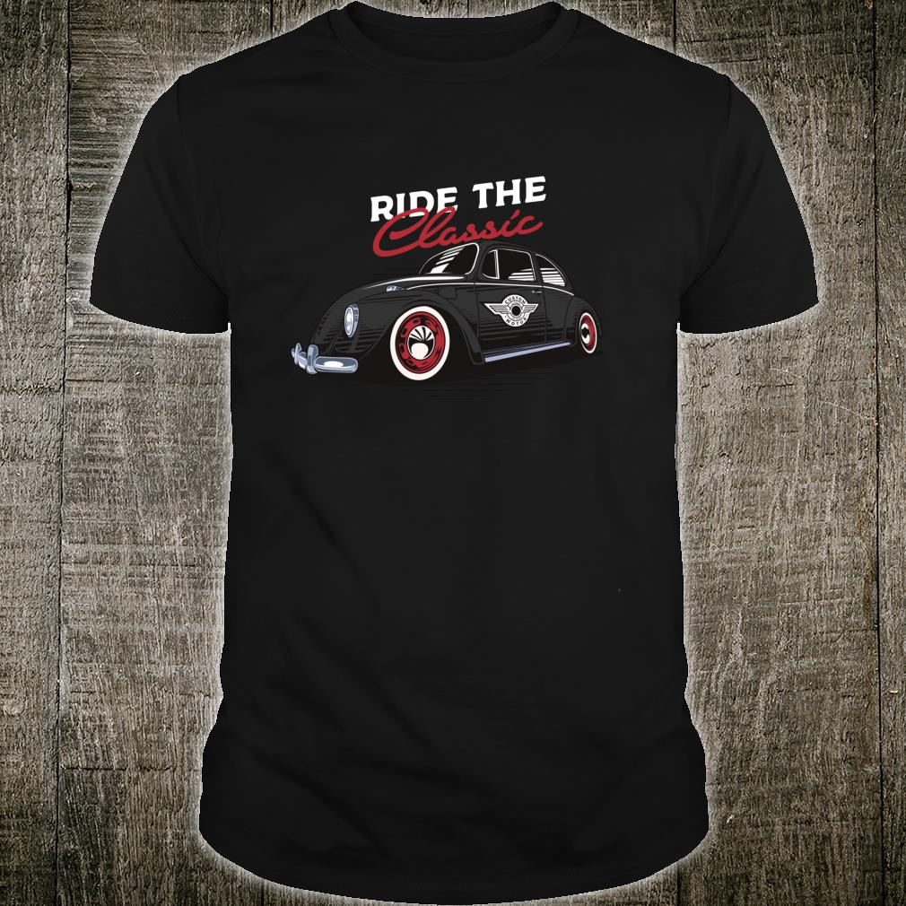 Retro Bug Auto Beetle Vintage Tattoo Ink Custom Classic Car Shirt