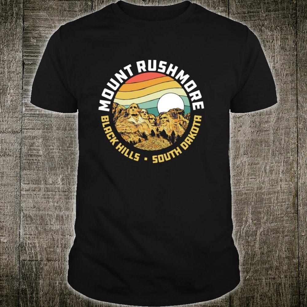 Retro Mount Rushmore National Memorial Vintage 80s Shirt