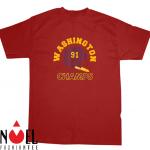 Retro Washington Football Helmet Vintage DC 91 Champs Shirt