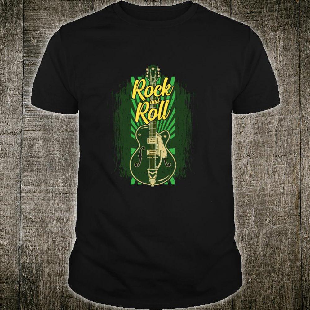Rock and Roll Electric Guitar Guitarist Guitar Player Shirt