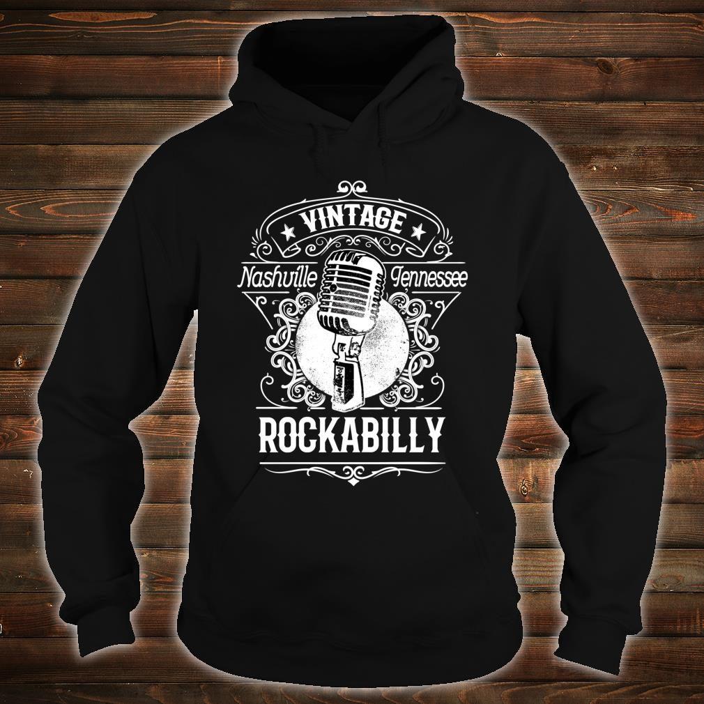 Rockabilly Greaser Vintage Nashville Retro Tennessee Shirt hoodie