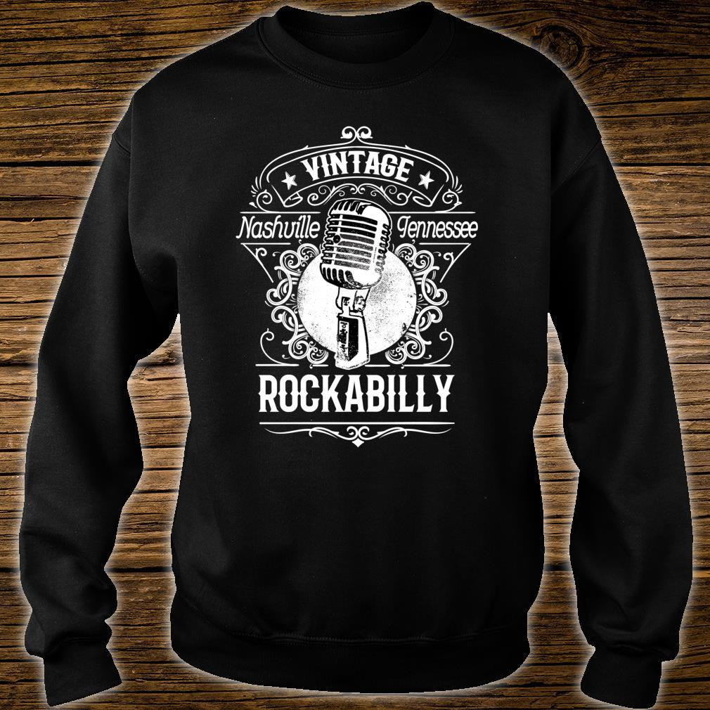 Rockabilly Greaser Vintage Nashville Retro Tennessee Shirt sweater