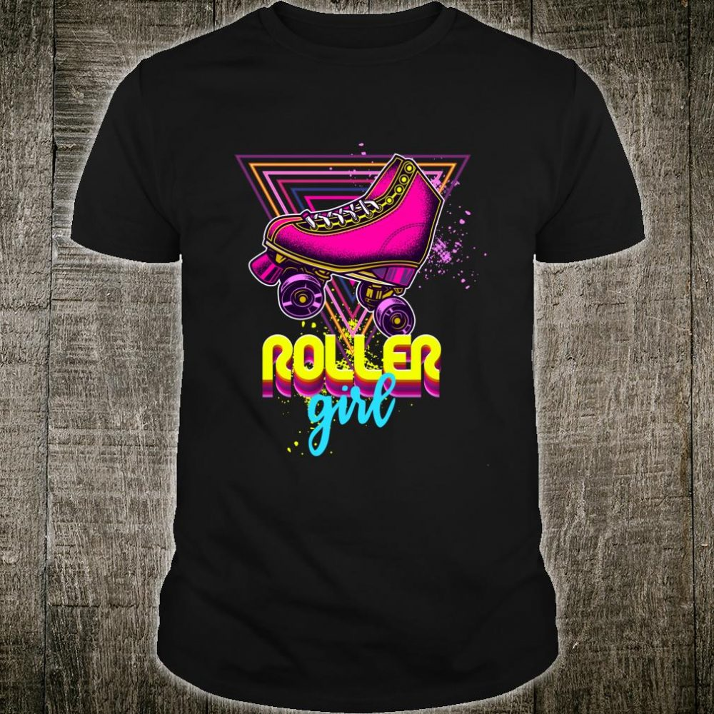 Roller Girl Vintage 70er Jahre Kostüm Shirt