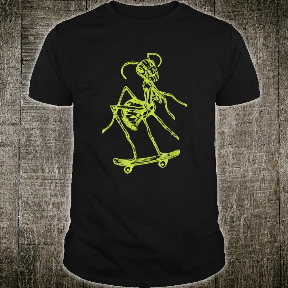 SEEMBO Ant Skater Skateboarding Skateboard Fun Skateboarder Shirt