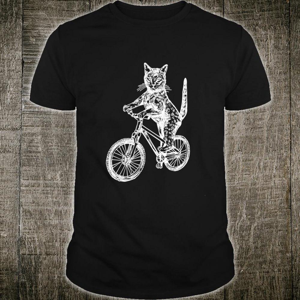 SEEMBO Cat Cycling Bicycle Cyclist Bicycling Bike Biking Shirt