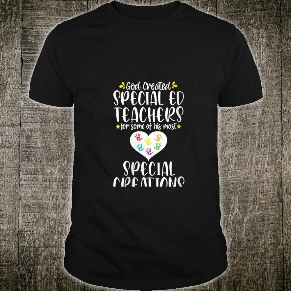 SPED Ed School Cute Creations Special Education Teacher Shirt