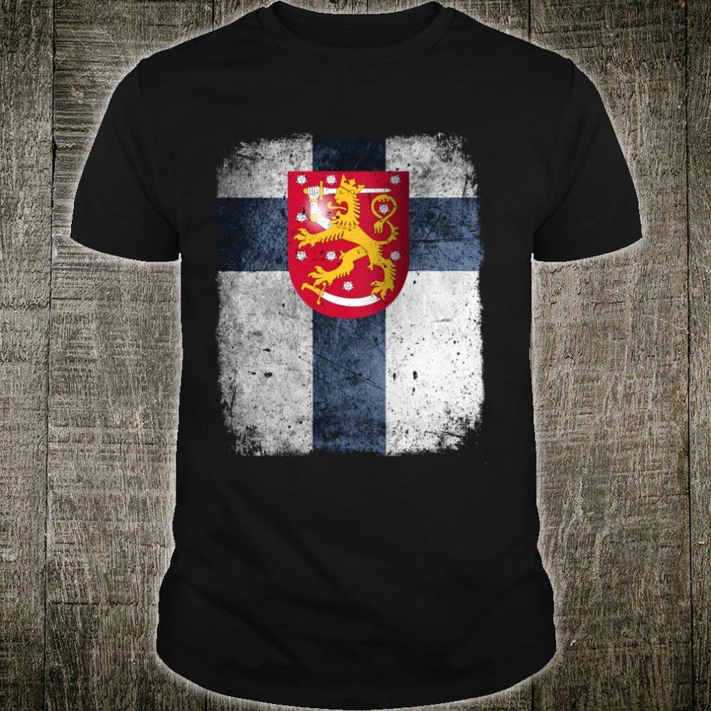 SUOMI FINNLAND Finnisches Reisegeschenk Souvenir Langarmshirt Shirt