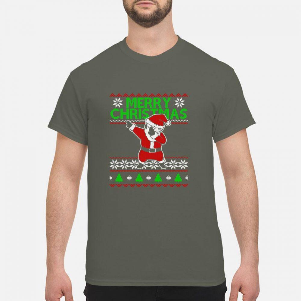 Santa Dabbing Xmas Christmas Ugly Shirt