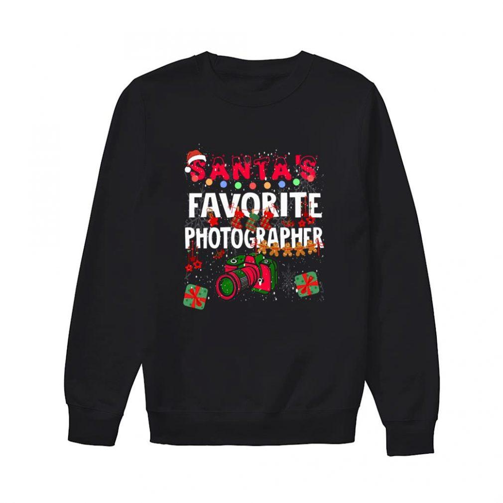 Santa's Favorite Photographer shirt sweater