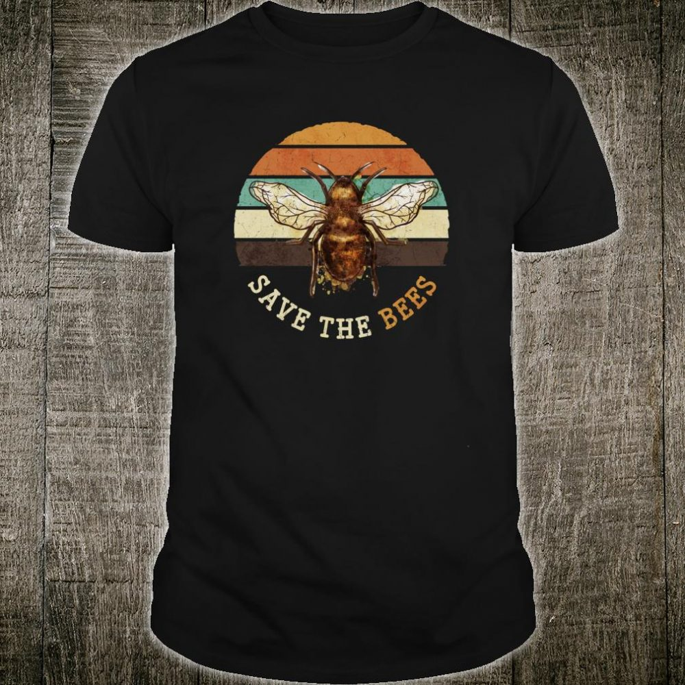 Save The Bees Apiary Beekeeping Honey Bees Shirt