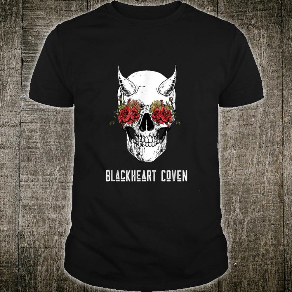 Schädel und Rosen Hexerei Gothic Satanic Occult Shirt