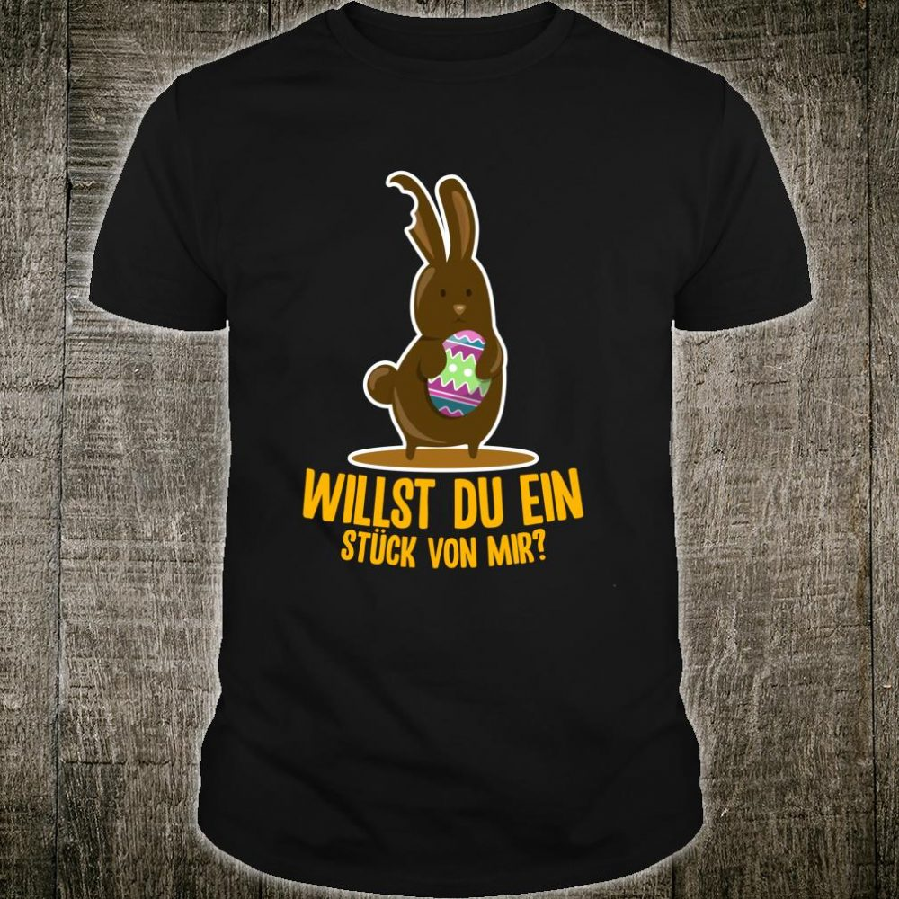 Schoko Osterhase Osterei Kinder Ostergeschenke Oster Shirt