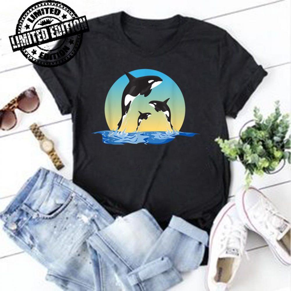 Schwertwal Orca Killerwal Tauchen Ozean Meer Geschenk shirt