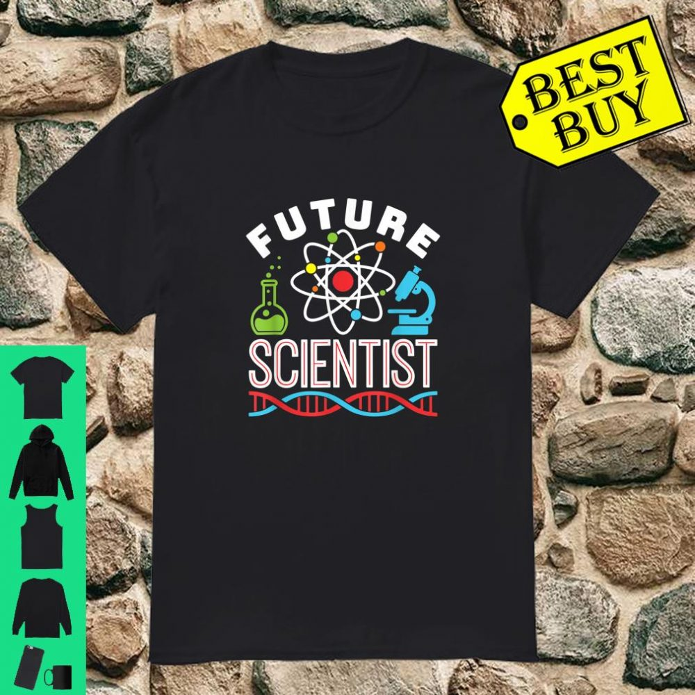 Science Fair Future Scientist STEM STEAM Boy Girl Shirt