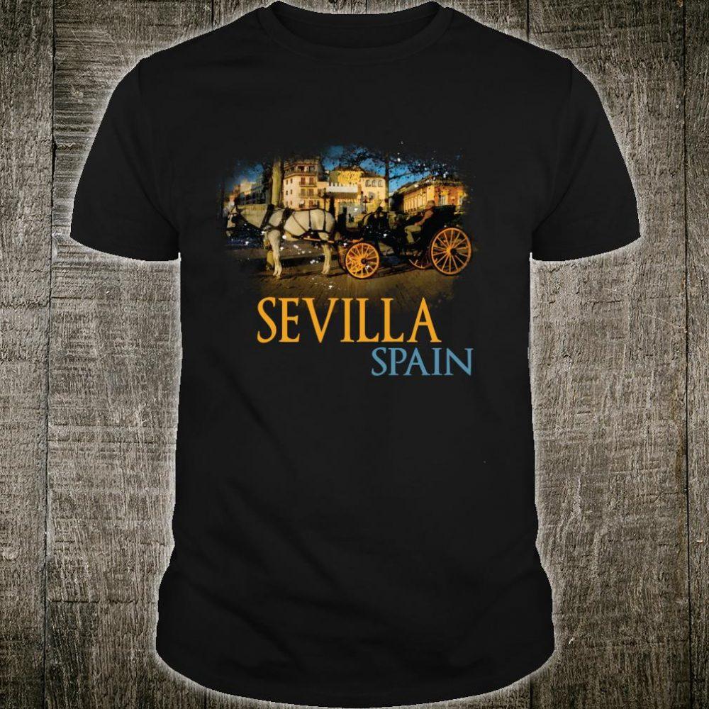 Sevilla Spain watercolor Family Souvenir Shirt