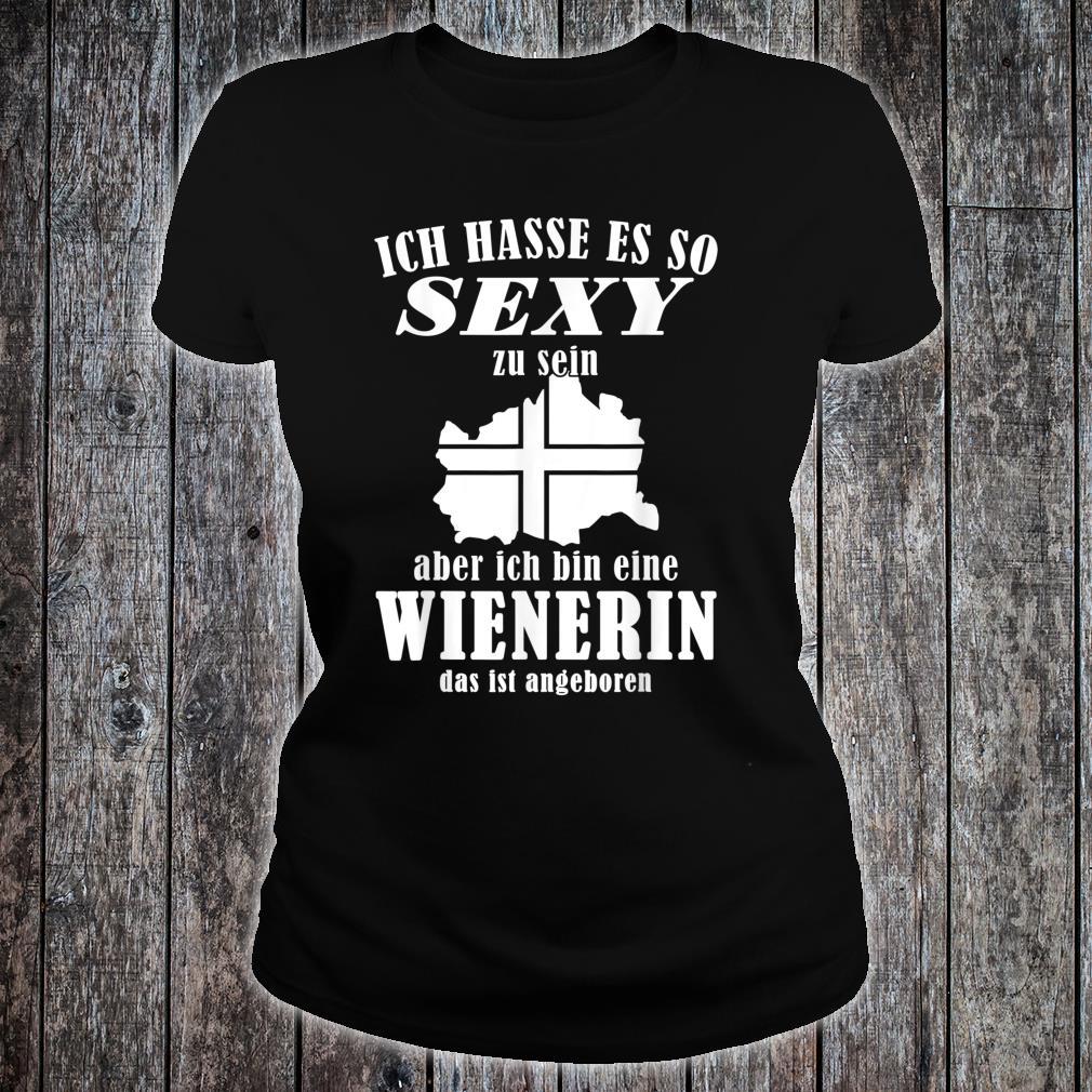 Sexy Wienerin Design für Wienerinnen Shirt ladies tee