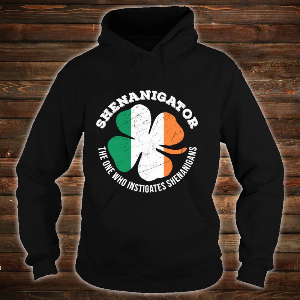 Shenanigator Definition Shenanigans St Patrick's Day Shirt hoodie