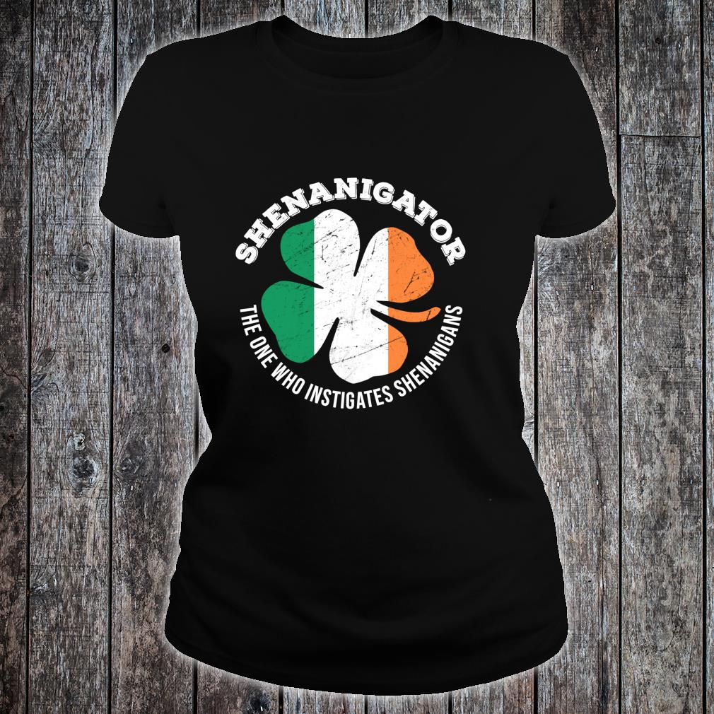 Shenanigator Definition Shenanigans St Patrick's Day Shirt ladies tee