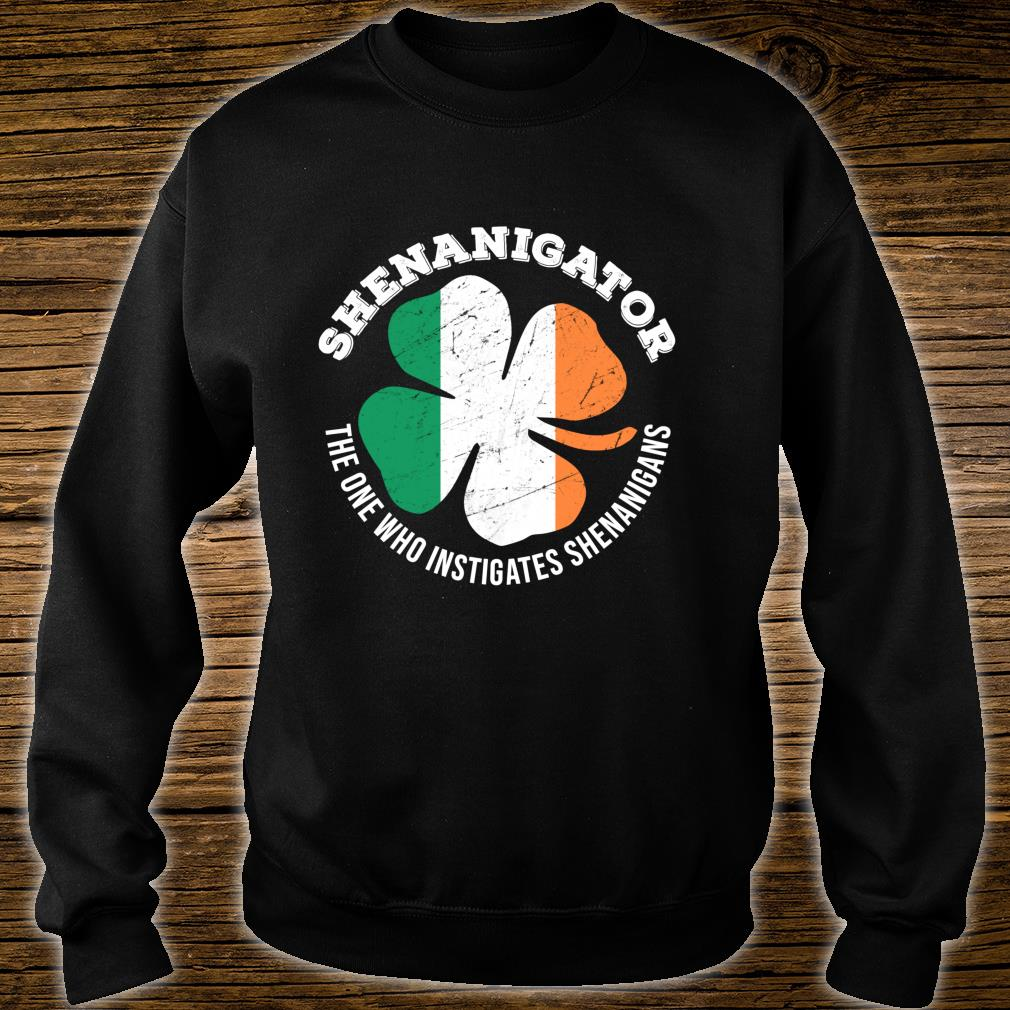 Shenanigator Definition Shenanigans St Patrick's Day Shirt sweater