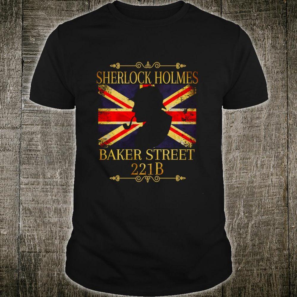 Sherlock Holmes British Consulting Detective 221B Baker St. Shirt
