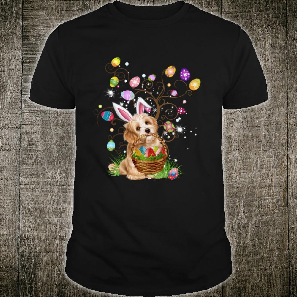 Shih Tzu Pet Hunting Egg Full Color Easter Day Shirt