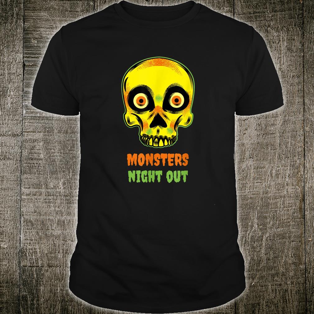 Skeleton Monster Night Out Shirt