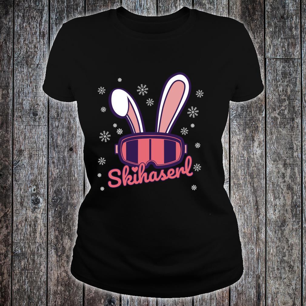 t shirt skifahren damen