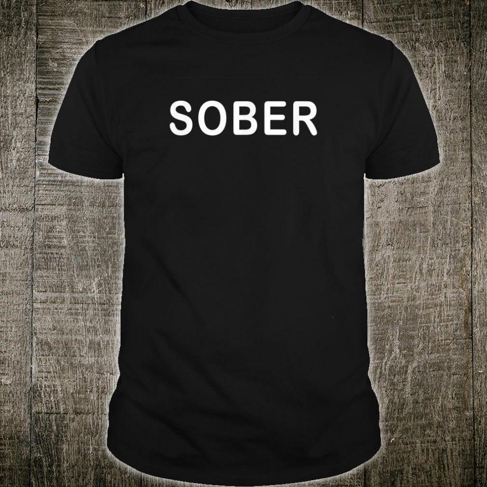 Sober Addiction Recovery Warrior Shirt