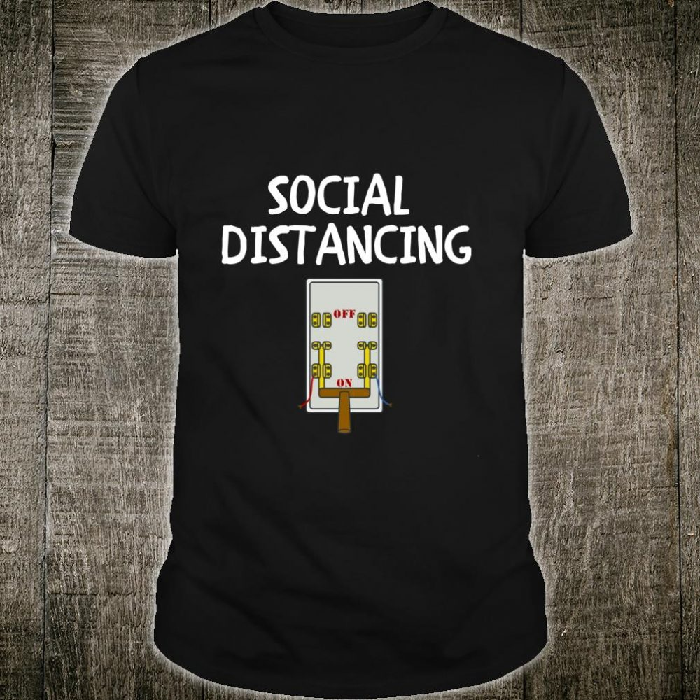 Social Distancing On Switch Under Quarantine Introvert Shirt