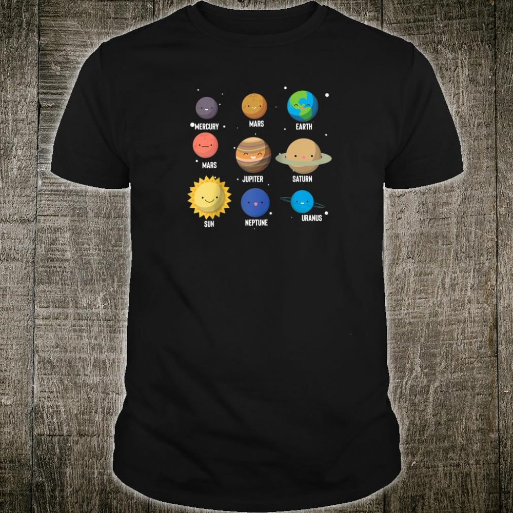 Solar System Planets Shirt