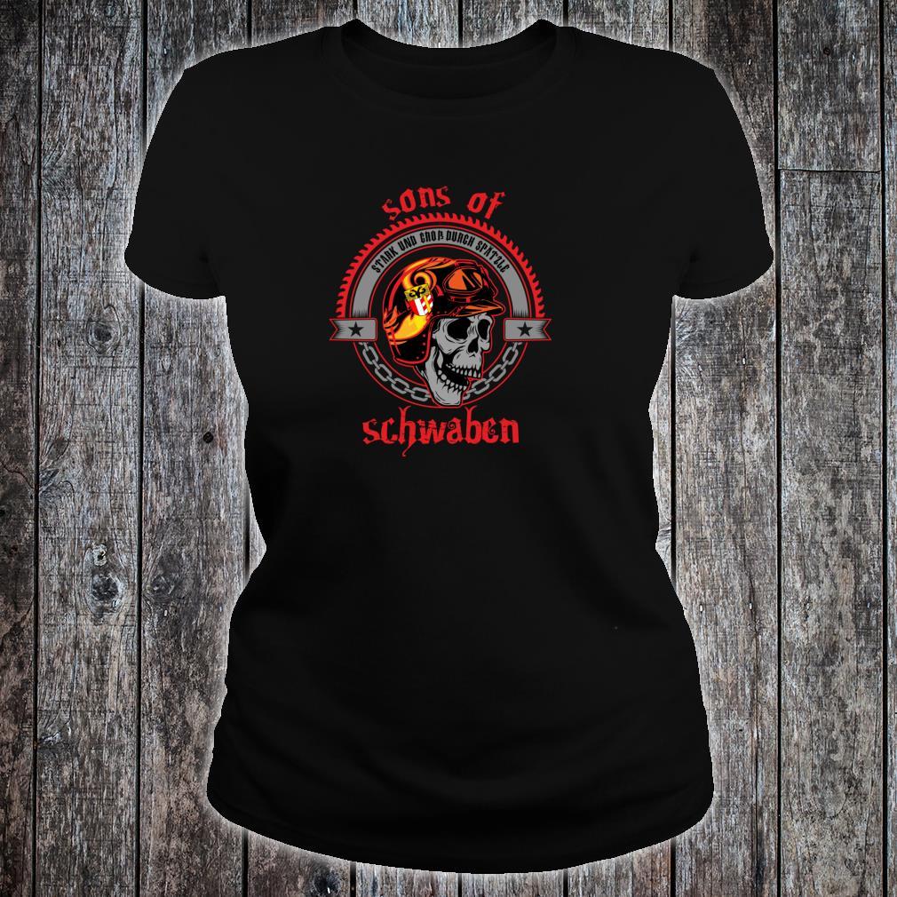 Sons of Schwaben Heimat Freiheit Ausfahrt Straße Rocker Shirt ladies tee