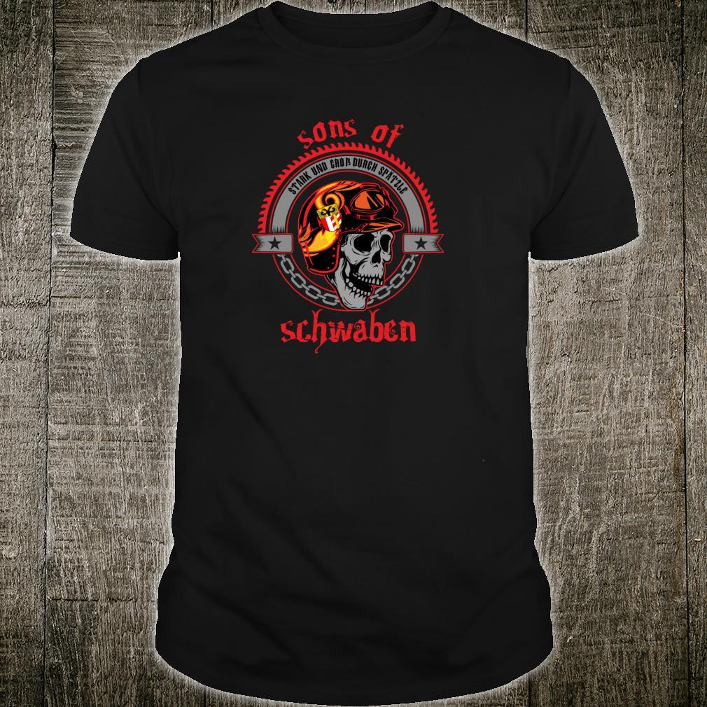 Sons of Schwaben Heimat Freiheit Ausfahrt Straße Rocker Shirt