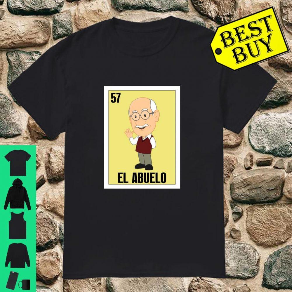 Spanish Grandpa Lottery Gift Mexican El Abuelo shirt