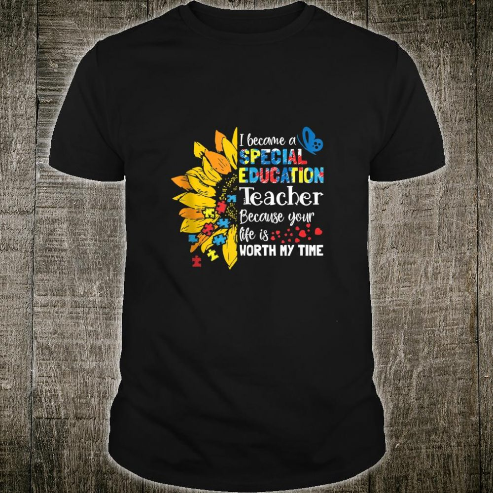 Special Education Teacher Gift Cute SPED Squad SPED Shirt