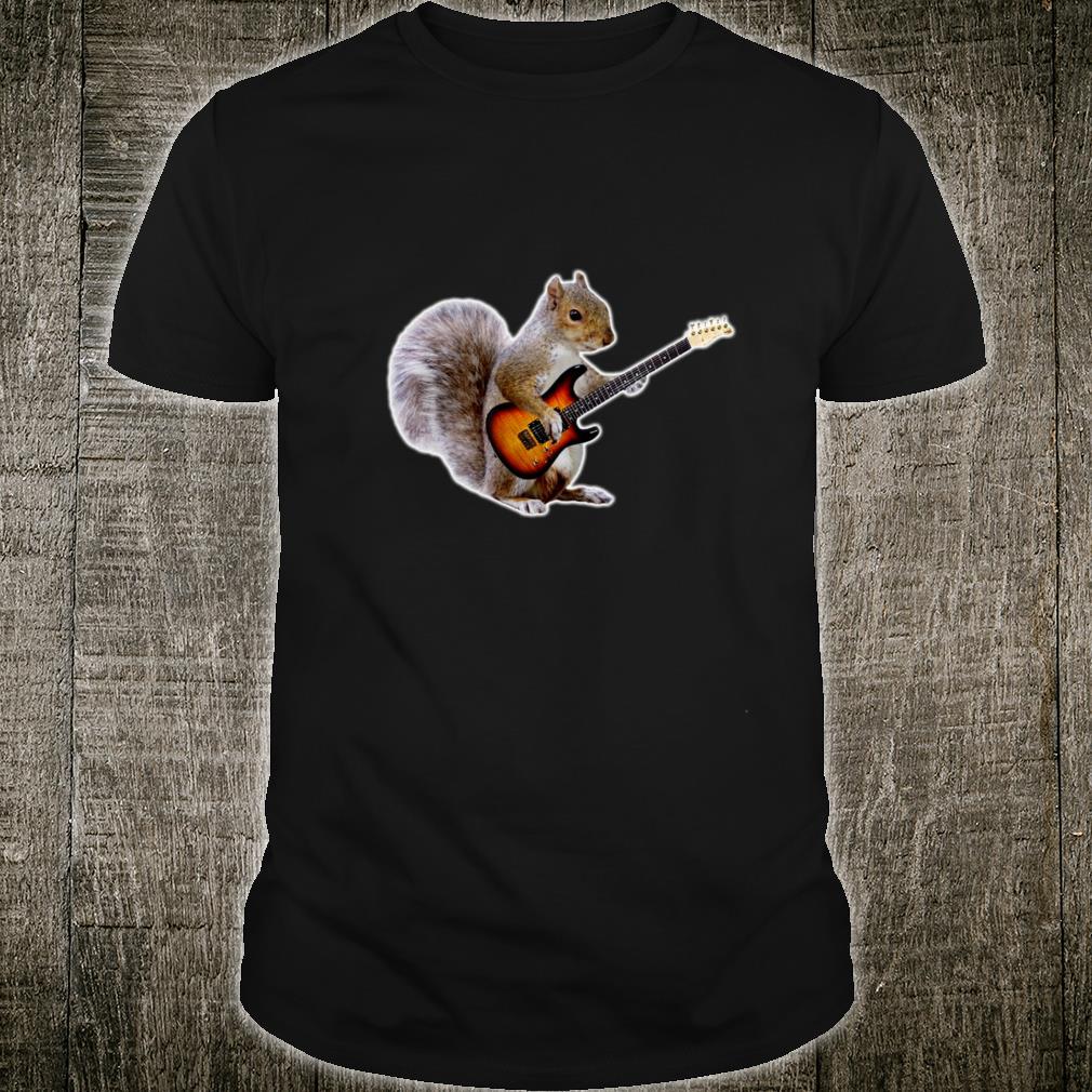 Squirrel Playing Guitar Shirt